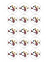 Papel de azúcar Minions para galletas  Nº106
