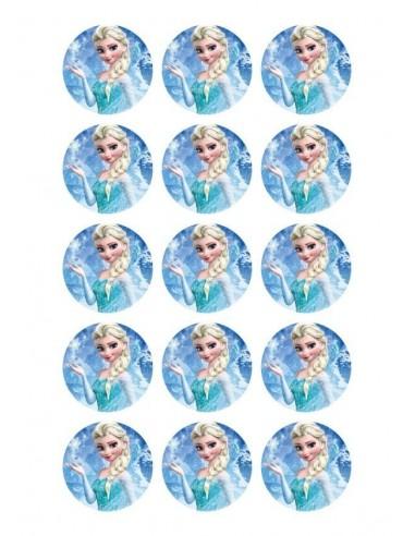 Papel de azúcar Frozen para galletas Nº95