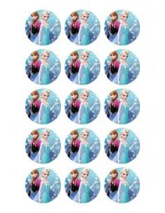 Papel de azúcar Frozen para galletas Nº96