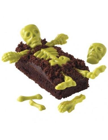 Molde esqueleto Halloween
