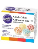 Set 4 Colorantes para Chocolate Wilton