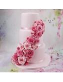 Cortador rosa fácil