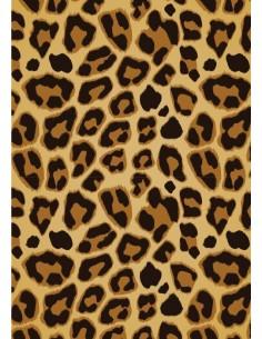 Papel de azúcar leopardo