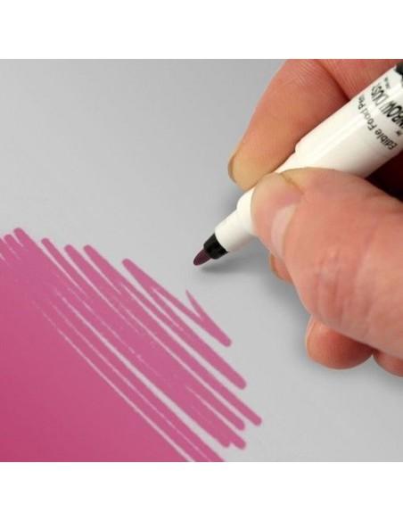 RD Rotulador de Doble Cara para Alimentos, Color Rosa Polvo