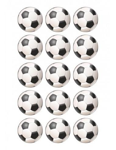 Papel De Azúcar Balones De Fútbol Para Galletas
