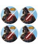 Obleas Star Wars para galletas