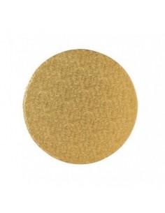 Base Tarta Redonda Oro 20cm