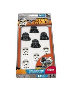 Figuritas azúcar Star Wars