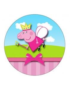 Papel de azúcar Peppa Pig