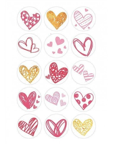 Papel de azúcar San Valentín