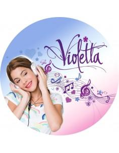 Papel de azúcar Violetta