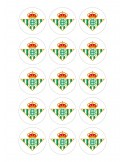 Papel de azúcar escudo Real Betis para galletas