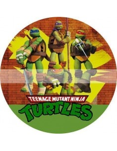 Papel de azúcar Tortugas Ninja