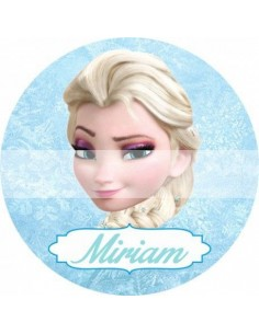Papel de azúcar Frozen personalizado