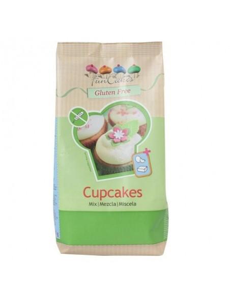 Mezcla para cupcakes sin gluten