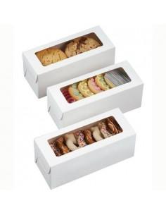 Cajas para galletas con ventana