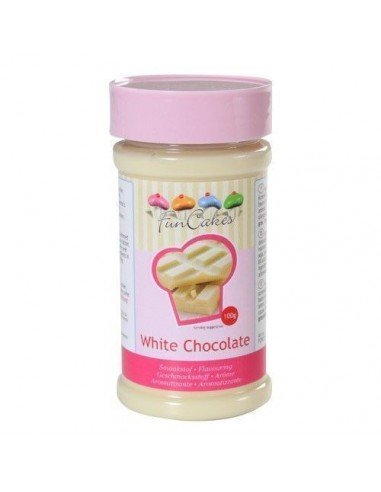 FunCakes Aroma en Pasta Sabor Chocolate Blanco