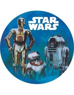 Papel de azúcar Star Wars