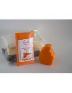 Fondant naranja sweet kolor 250 gr
