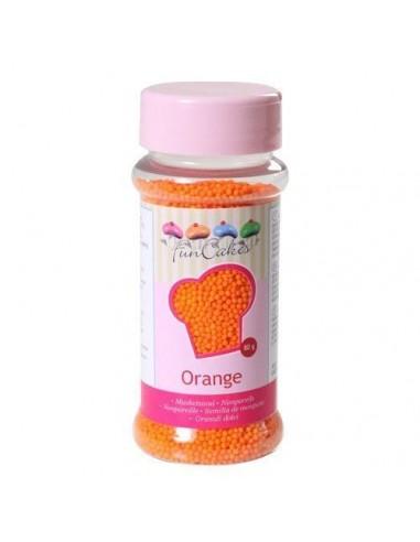 FunCakes Nonpareils Naranjas