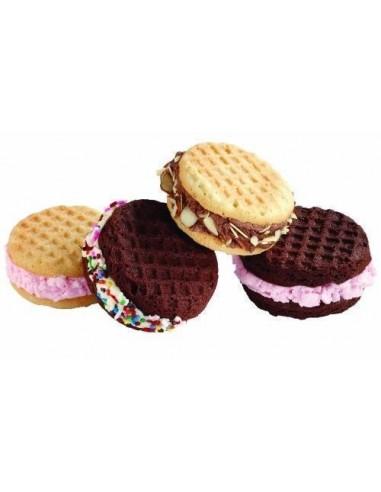 Molde galletas helado redondas