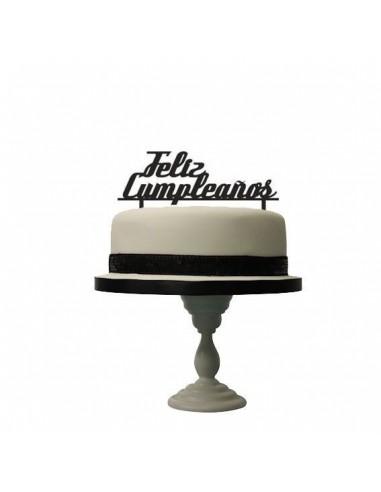 Topper feliz cumpleaños