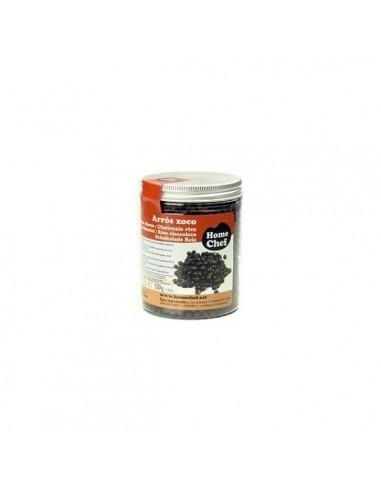 Bolitas de arroz chocolate negro