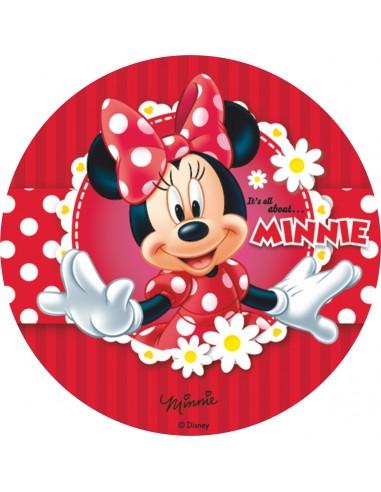 Papel de azúcar Minnie Mouse