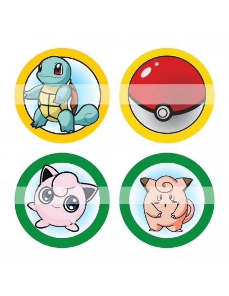 Papel de azúcar pokemon