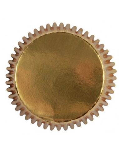 Cápsulas oro metalizadas