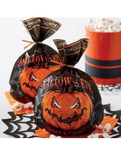 Bolsas calabaza Halloween