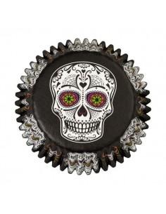 Cápsulas calavera mexicana Halloween