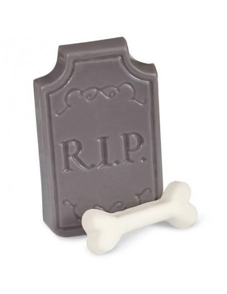 Molde lápidas para chocolate
