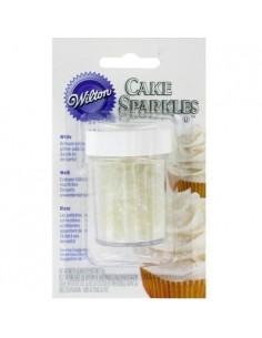 Brillo para Tartas Color Blanco Wilton