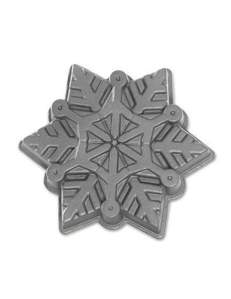 Molde Copo de Nieve Snowflake Nordic Ware