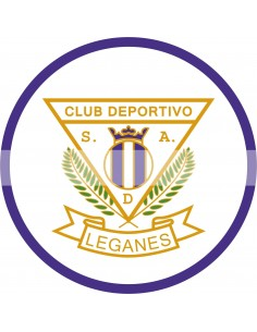 Papel de azúcar escudo Leganés