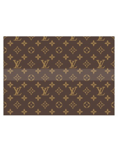 Papel de azúcar Louis Vuitton