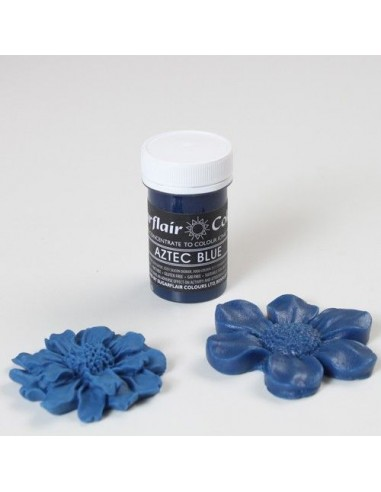 Colorante en Pasta azul azteca Sugarflair