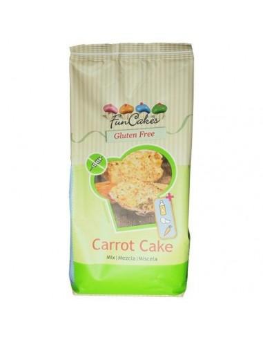 Mezcla para tarta de zanahoria sin gluten