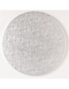 Base Tarta Redonda Plata 20cm x 1cm Funcakes