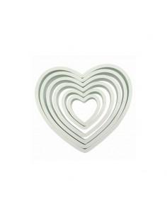 Cortadores corazones PME