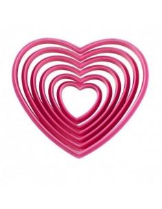 Cortadores corazones wilton