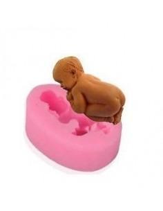 Molde de Silicona Bebé