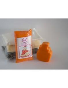 Fondant naranja claro sweet kolor