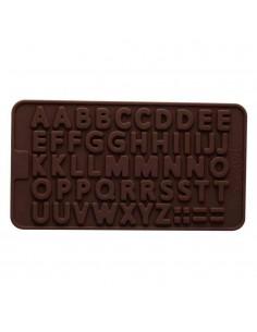 Molde de silicona bombones de abecedario
