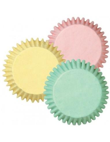Cápsulas color pastel
