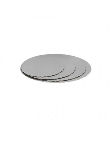 Base Tarta fina blanca 30 cm
