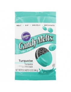 Wilton Candy Melts turquesa