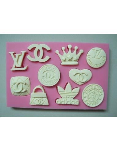 Molde de silicona logos