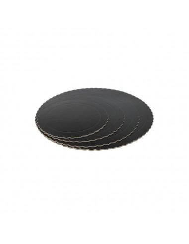 Base Tarta fina negra 35 cm